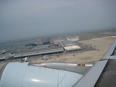 関西国際空港離陸